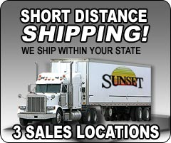 Sunset Ladder & Scaffold has distributors throughout the USA. We provide short shipping distances from a distributor near you.