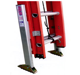 Available Extension Ladder Option: Automatic Leg Levelers