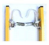 Available Options for EZ Lift Fiberglass Extension Ladder: Hook & V-Rung