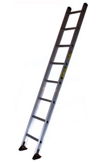 Single Aluminum Type 1A Stepladder 300 lb Load Capacity