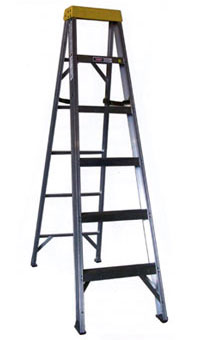 Aluminum Type 1A Stepladder 300 lb Load Capacity