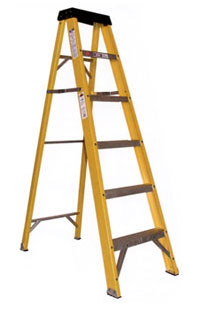 Fiberglass Type 1 Stepladder 250 lb Load Capacity