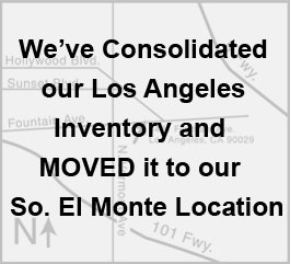 Map to Los Angeles Office/Warehouse